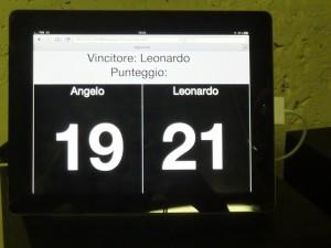 Il contapunti su iPad