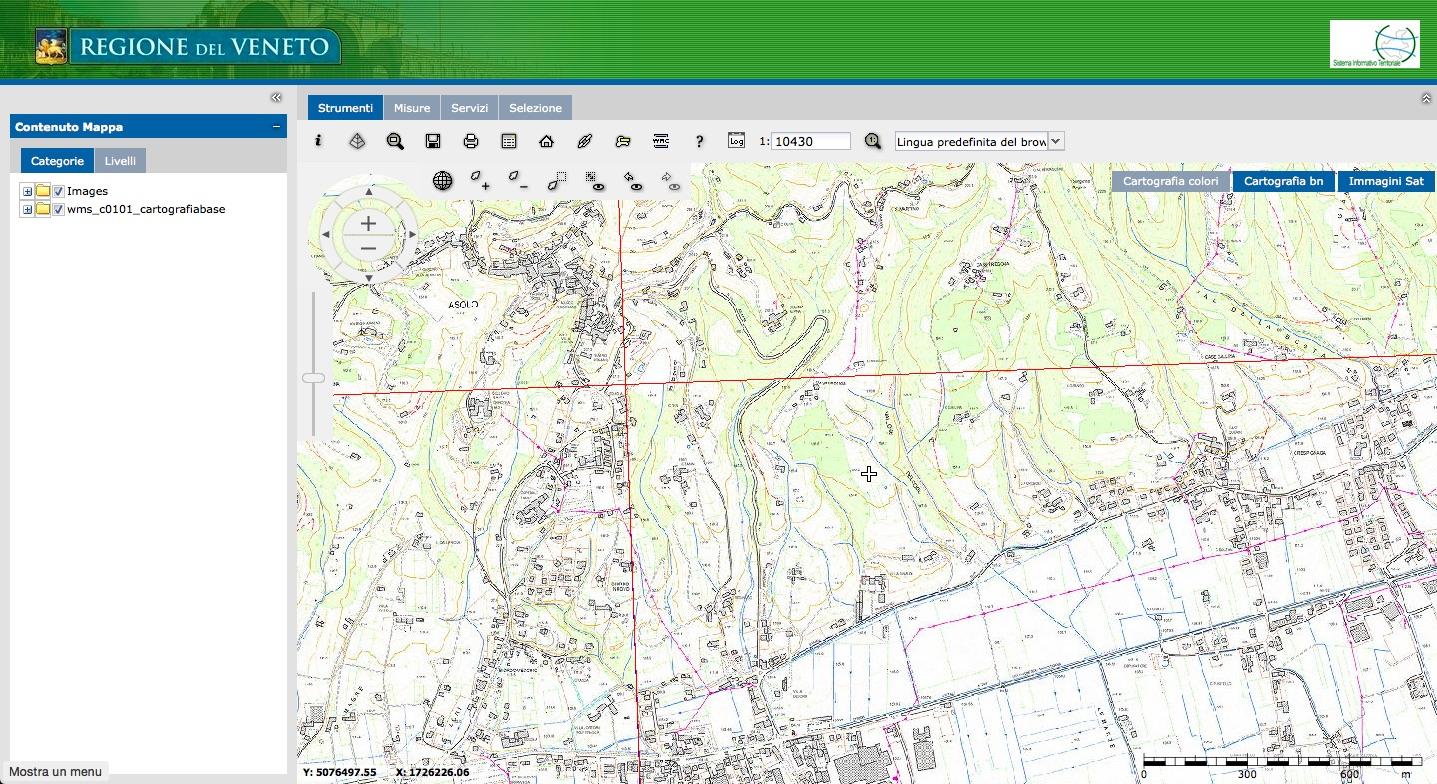 Cartina Igm Piemonte.Cartografia Tecnica On Line In Italia Interstudio News