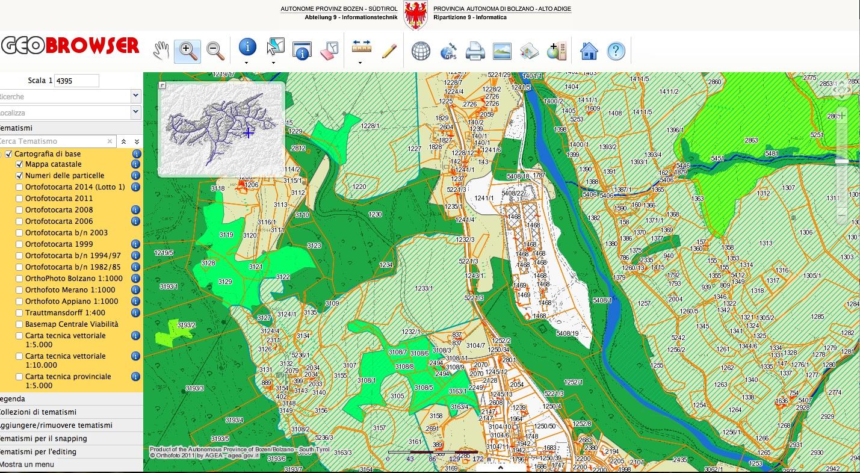 Cartina Italia Dwg.Cartografia Tecnica On Line In Italia Interstudio News