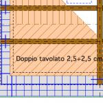 Doppio tavolato diagonale