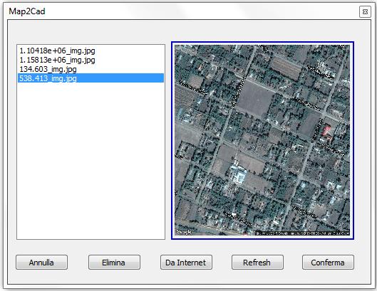 Finestra Map3Cad