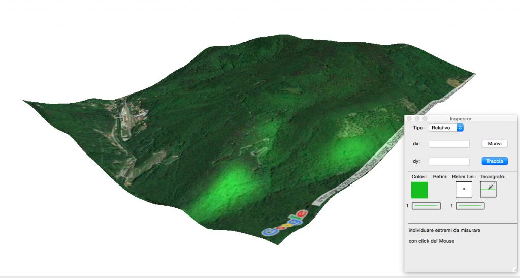 Terreno 3D su Domus.Cad con texture