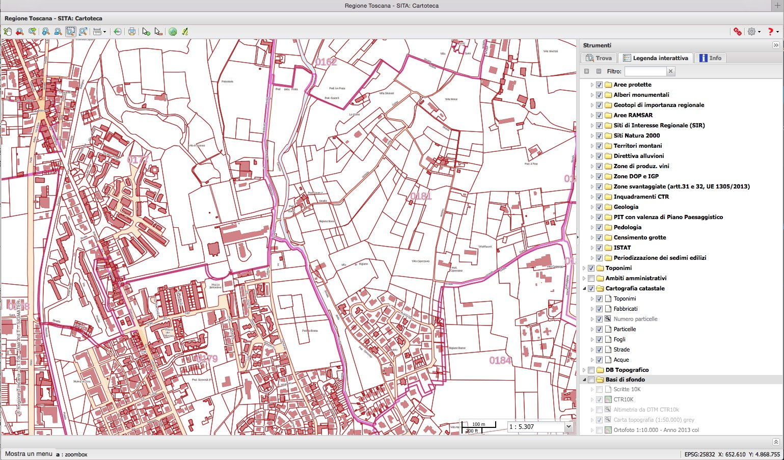 MAPPE GIS SCARICA